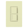 Lutron Maestro Combination 300W Dimmer and 2.5A Countdown Timer-Almond