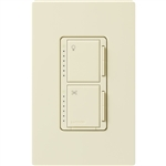 300W Dimmer and 1.0A Fan Controller with Companion Controller-Almond