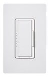 Lutron 600W Maestro Duo Dimmer with Wall Plate-White
