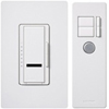Lutron 1000W Maestro IR Dimmer with Remote Control Multi-Location-White