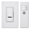 Lutron 1000W Maestro IR Dimmer with Remote Control Single-Pole-Almond