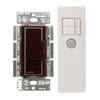 Lutron 1000W Maestro IR Dimmer with Remote Control Single-Pole-Brown