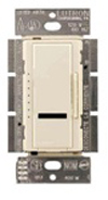 Lutron 600W Maestro IR Dimmer Single-Pole-Ivory