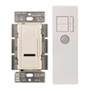Lutron 600W Maestro IR Dimmer with Remote Control Single-Pole-Light Almond