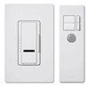 Lutron 600W Maestro IR Dimmer with Remote Control Single-Pole-White
