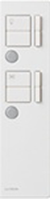 Lutron Infrared Remote Control for Maestro IR Dimmer Fan Control Combo-White