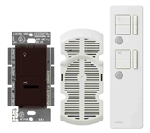 IR Combination 300W Dimmer and 1.0A Fan Controller Package-Brown