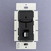Lutron 450W Skylark Magnetic Low Voltage Slide Dimmer Single Pole-Black