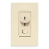 Lutron 450W Skylark Magnetic Low Voltage Slide Dimmer Single Pole-Ivory