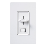 Lutron 450W Skylark Magnetic Low Voltage Slide Dimmer 3-Way-White
