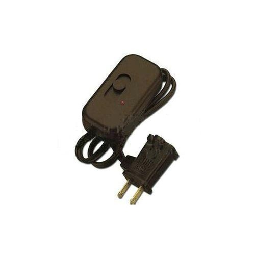 Lutron 300w Credenza Plug In Lamp Dimmer Brown