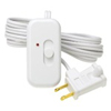 Lutron 300W Credenza Plug-In Lamp Dimmer-White