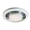 "Nutone 110 CFM QuieTTest Bathroom Fan-Heat-Light for 4"" Duct Includes Switch"