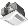 "30-80 CFM Continuous and Spot Ventilation Fan Motion Sensor and Light 4"" Duct"