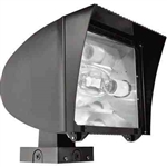 Fxlh175Xqt Flexflood Xl 175W Mh Qt Hpf Wall Mount Plus Lamp Bronze