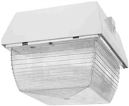 Van3Hh50W-Pc Vandalproof 9 X 9 Ceiling 50W Mh 120V Plus Lamp Plus 120V Pc White