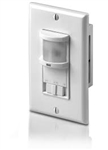 RS Series Passive Infrared (PIR) Specific Wall Switch Occupancy Sensors Black