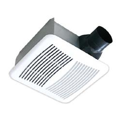 Airzone Low Profile Ventilation Fan Shallow Housing 120 Cfm 1 2 Sones 4 6 Duct
