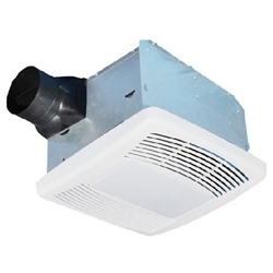 Airzone Ventilation Fan Light With Humidity Sensor 23w Fluorescent 4w Incandescent 110