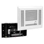 Cadet SL151TW Wall Heater, 1500W 120V SL Series Heater Assembly w/Grill & Thermostat - White