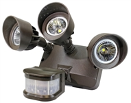 Westgate Mfg SLB-312-P 3-HEAD SECURITY LIGHTS WITH SENSOR