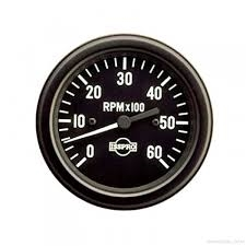 Electric Tachometer - 3 3/8 inch