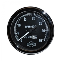 Gauge Tachometer Mechanical with hour meter