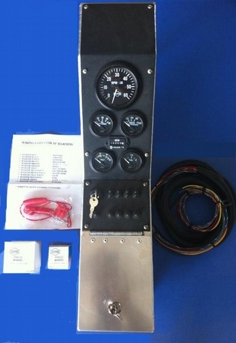 Complete Automotive Center Instrument Panel