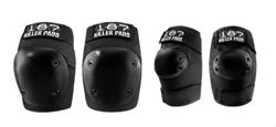 187 Fly Knee / Elbow Pads Combo Pack