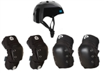 SixSixOne Dirt Lid & DJ Elbow & Knee Pads | Combo Pack