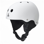 Triple Eight Old School Snow Helmet with Audio