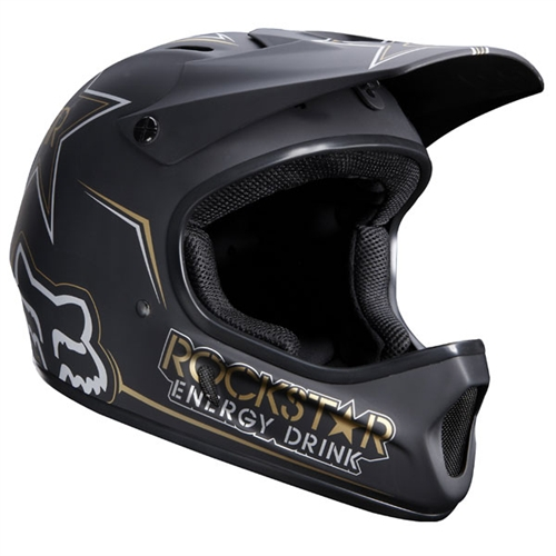 Fox Rampage Rockstar Full Face Bmx Mountain Bike Helmet