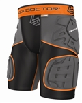 Shock Doctor Shock Skin 5-Pad Extended Thigh Padded Short