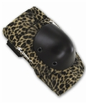 Smith Scabs Leopard Print Elbow Pads