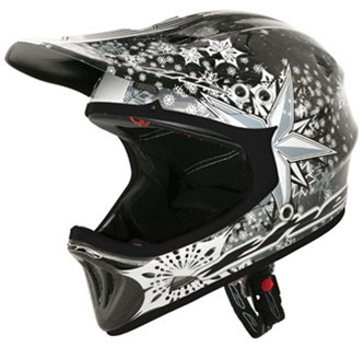 The T2 Carbon Full Face Bmx Mtb Helmet