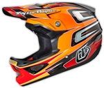 Troy Lee Designs D3 Helmet Speed CF Orange