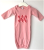 Berry Players on Pink - Newborn/Infant Gown