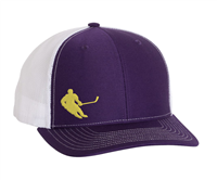 39929eca30391 Hockey Hat Embroidered Player Hat - Purple ...