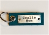 *NEW* Goalie Mom -- Leather Tag Keychain (more colors)