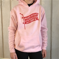 Youth Hooded Sweatshirt - Hockey Sisters Unite
