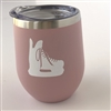 Hockey Skate Tumbler - Rose