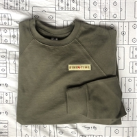 **ALL NEW** Women's Woven Tag Crew in Olive