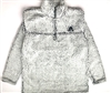 Adult Sherpa Fleece - Frosty Grey Pullover - GOALIE Embroidery  SOLD OUT