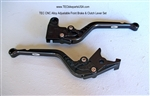 TEC CNC Alloy Adjustable Front Brake & Clutch Lever Set