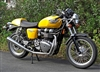 Triumph Stainless Steel 2>1 CAFE Exhausts T100 SE Bonneville Thruxton