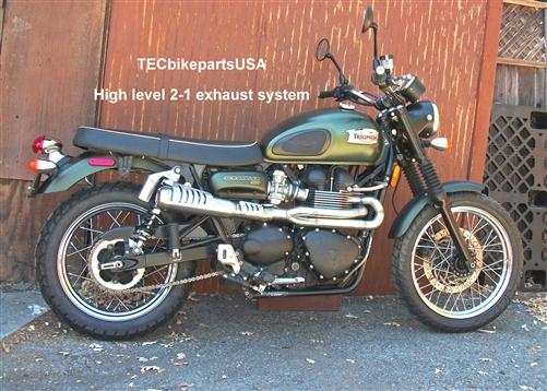 2>1 Stainless Steel DESERT High Level Exhaust