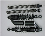 TEC Black Front and Rear Adjustable Suspension Kit for Triumph Street Scrambler