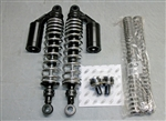 TEC Black/Chrome Front and Rear Adjustable Suspension Kit for Triumph Water-Cooled T120