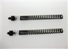TEC Front Fork Upgrade Kit for Triumph T100, featuring adjustable ride height and progressive rate springs