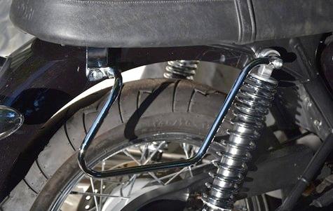Triumph Chrome Luggage Protector Rack